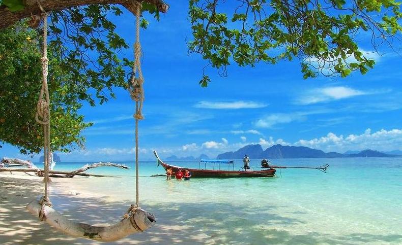ชายหาด เกาะกระดาน