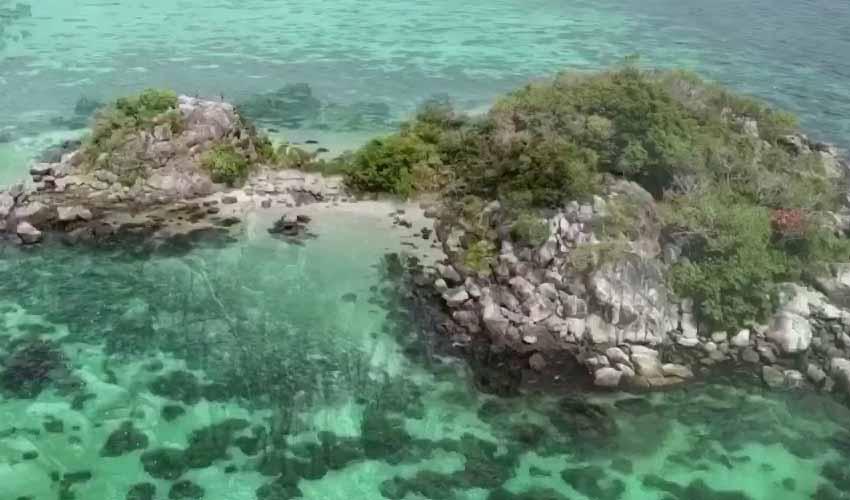 เกาะกระ เป็นเกาะที่ใช้ดำน้ำ ทัวร์หลีเป๊ะ low season